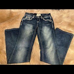 Grace in LA boot cut jeans
